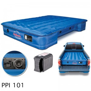"AirBedz Original Truck Bed Air Mattress PPI 101 Fullsize 8' Long Bed (95""x63.5""x12"") With Built-in Rechargeable Battery Air Pump"
