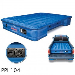 """AirBedz Original Truck Bed Air Mattress PPI 104 Fullsize 5.5'-5.8' Short Bed (67""""x63.5""""x12"""") With Built-in Rechargeable Battery Air Pump  Includes Tailgate Extension Mattress (21 X 57 X 12)"""