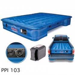 "AirBedz Original Truck Bed Air Mattress PPI 103 Midsize 6'-6.5' Short Bed (73""x55""x12"") With Built-in Rechargeable Battery Air Pump"
