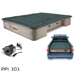 "AirBedz Pro3 Series Truck Bed Air Mattress PPI 303 Midsize 6'-6.5' Short Bed (73""x55""x12"") With Portable DC Air Pump"