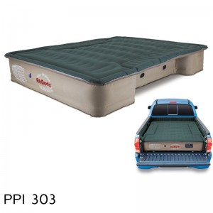 """AirBedz Pro3 Series Truck Bed Air Mattress PPI 303 Midsize 6'-6.5' Short Bed (73""""x55""""x12"""") With Portable DC Air Pump"""