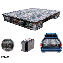 "AirBedz Original Truck Bed Air Mattress PPI 401 Fullsize 8' Long Bed (95""x63.5""x12"") With Built-in Rechargeable Battery Air Pump"