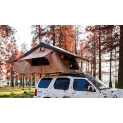 Pittman Outdoors Soft Shell Rooftop Tent with covered ladder access. Sleeps 2-3 People