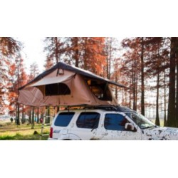 Pittman Outdoors Soft Shell Rooftop Tent with covered ladder access. Sleeps 3-4 People