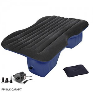 Pittman Outdoors (PPI-PV_CARMAT) Inflatable Rear Seat Air Mattress. Fits Jeeps, Car's, SUV's and Mid-size Trucks