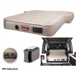 """AirBedz XUV"""" JEEP, SUV & Crossover Vehicle Rear Seats Down Air Mattress with Built-in Rechargeable Battery Air Pump"""
