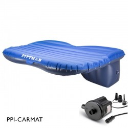 Pittman Backseat Mattress For MIDSIZE Trucks, Cars, SUVs and Jeeps  Portable DC Pump Included (PPI-CARMAT)
