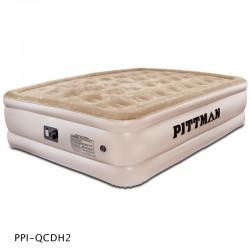 Pittman Queen Comfort Double High Air Mattress with electrical built-in pump